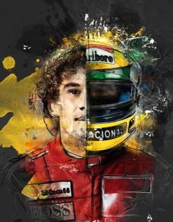 Hommage à Ayrton Senna