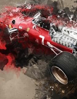 Ferrari 312 - Jacky Ickx